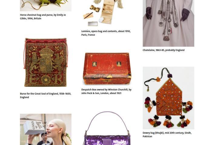 伦敦V&A博物馆将于明年4月举办时尚包袋展:Bags: Inside Out