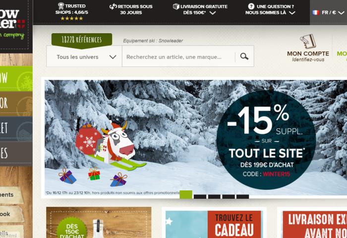 法国户外用品零售商 Snowleader 大力开拓海外市场