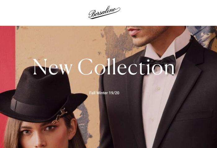 起死回生的意大利老牌制帽商 Borsalino 2019年销售1800万欧元,计划今年登陆中国市场