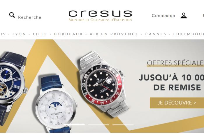 打通线上线下,Cresus 成为法国最大的二手钟表零售商