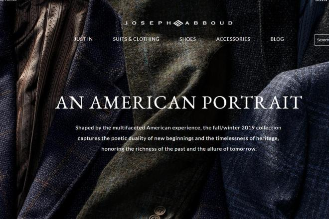美国男装零售巨头Tailored Brands 以1.15亿美元出售旗下 Joseph Abboud 商标给品牌管理公司WHP