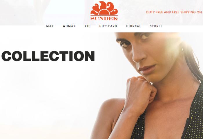 总部位于意大利的美国泳装品牌 Sundek 的母公司股权易手