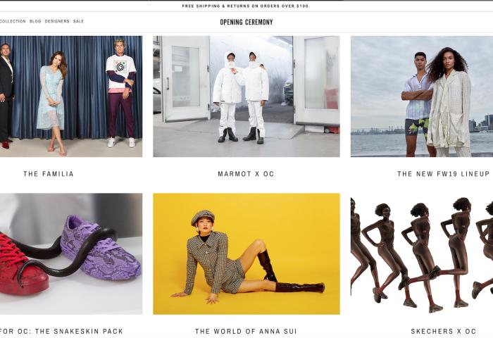 知名纽约时尚买手店 Opening Ceremony将关闭所有门店,商标权转让给Off-White背后的意大利公司