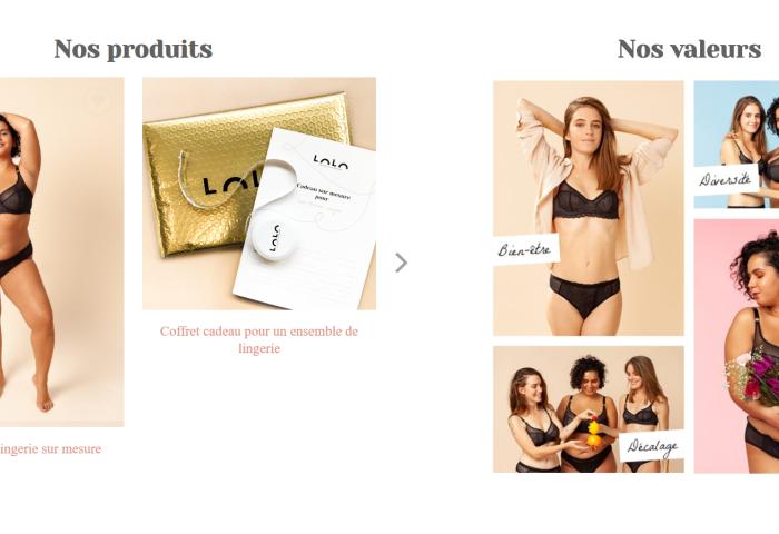 提供57种尺码,法国互联网内衣品牌 LOLO 自创新型内衣测量方法