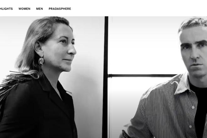 "Prada 开启""双驾马车"":Raf Simons 加盟与 Miuccia Prada 共掌创意大权"
