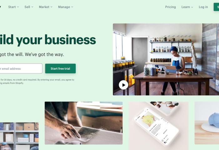 电商服务软件商Shopify 2019财年:GMV 超100万美元的商户数量同比增长44%