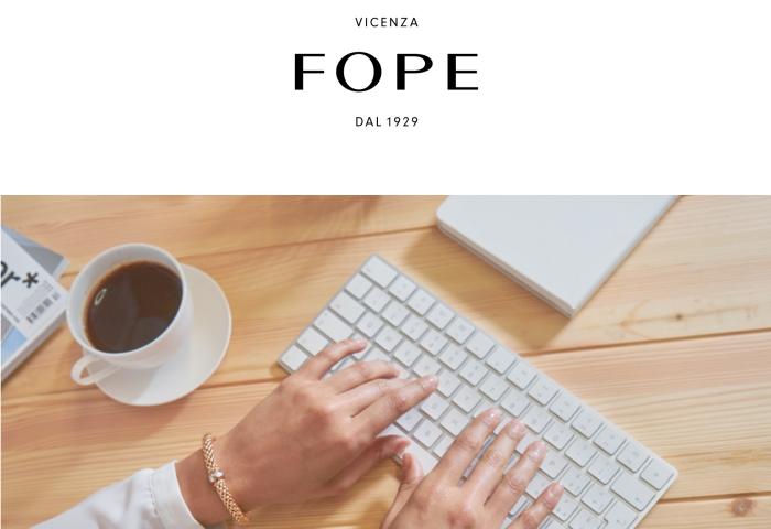 意大利珠宝品牌 Fope 2019年实现销售3500万欧元,同比增长11.9%