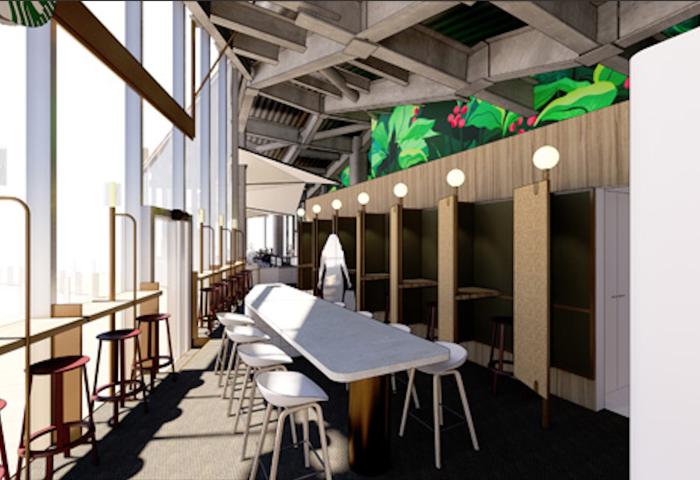 星巴克日本推出全新智能门店,提供共享办公服务