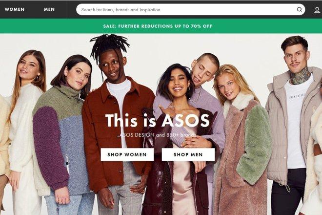 英国时尚电商 Asos 新筹资约3.04亿美元,上半财年销售额增长21%