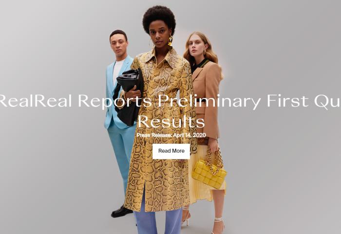 美国二手奢侈品电商The RealReal第一季度成交总额同比增长15%,净亏损近4000万美元