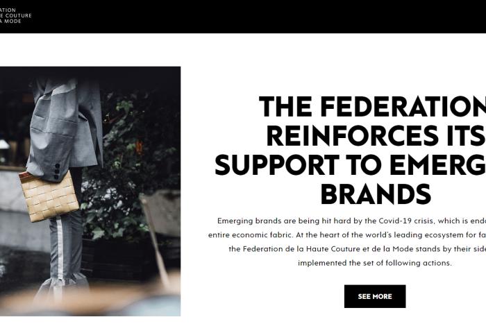 助力新兴品牌渡过疫情难关!法国高定时尚联合会设立扶持基金、打造数字时尚展厅