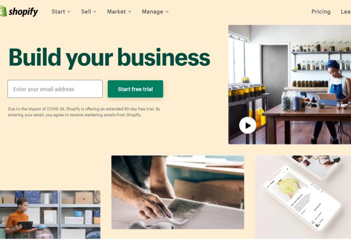 "Shopify 推出首款购物APP,内置""附近商家""功能,扶持本地小企业"