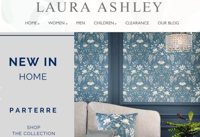 进入破产程序的英国老牌 Laura Ashley 被美国投资公司 Gordon Brothers 收购