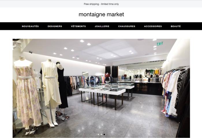 法国买手店 Montaigne Market 试水线上,应对疫情危机