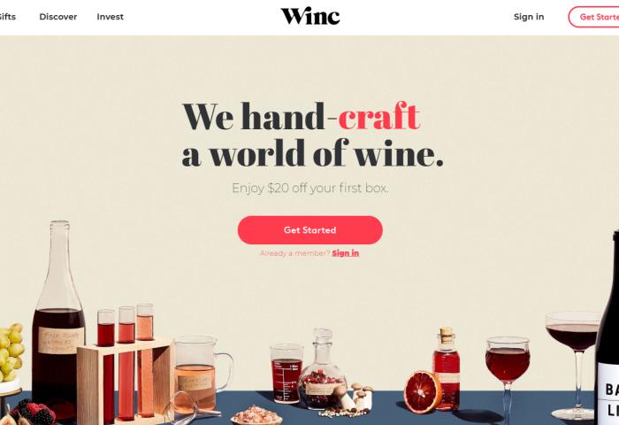 美国葡萄酒电商 Winc 通过众筹融资570万美元,年营业额已达1.7亿美元