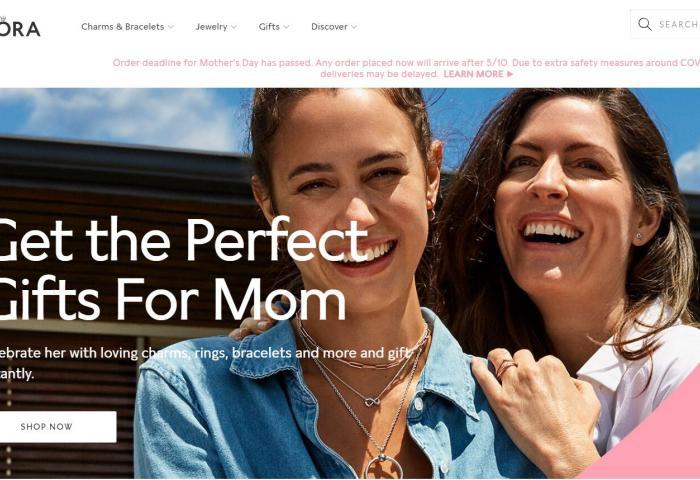 """丹麦珠宝品牌 Pandora 进行的""""压力测试""""显示:即便全部门店关闭至年底,依然有足够资金应对"""