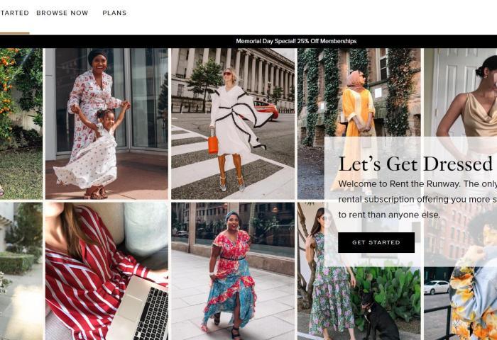 传:美国互联网租衣平台Rent the Runway寻求新一轮融资,估值从10亿美元缩水至7.5亿美元