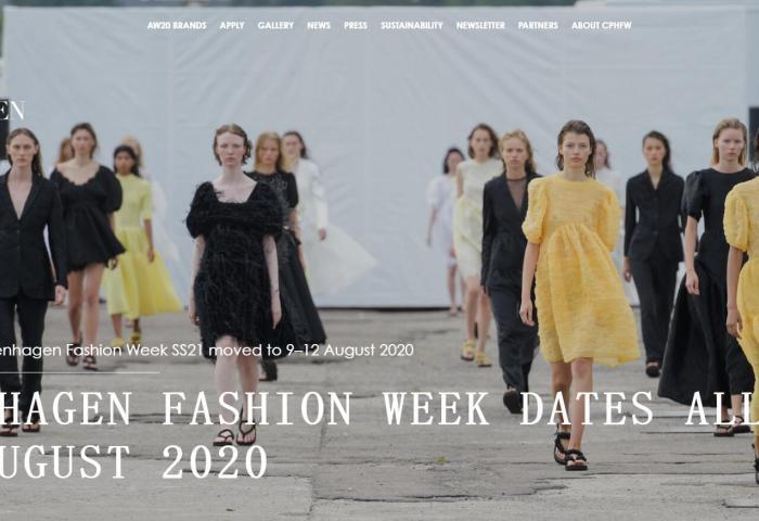 哥本哈根时装周将于8月正常进行,仅比原定日程推迟一周
