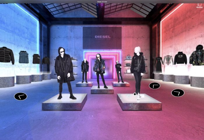 Diesel推出数字化 showroom,为全球买手提供沉浸式虚拟采买体验