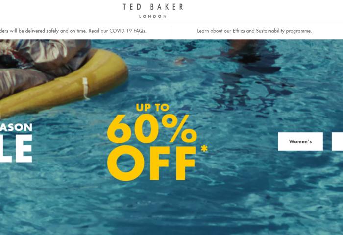 英国时尚品牌 Ted Baker 将募资1.05亿英镑,创始人持股比例减少至此前的一半