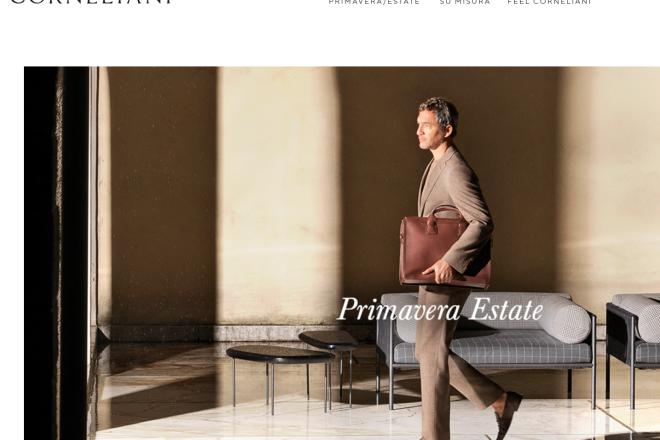 意大利高级男装品牌 Corneliani申请破产保护