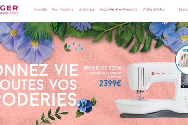 美国胜家品牌缝纫机称:疫情期间在法国的销售额增长4倍