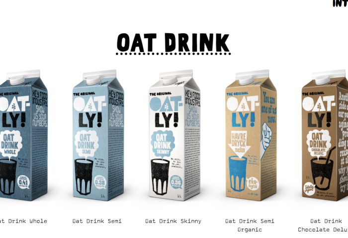 黑石为首的财团2亿美元收购环保燕麦奶品牌 Oatly 10%股权
