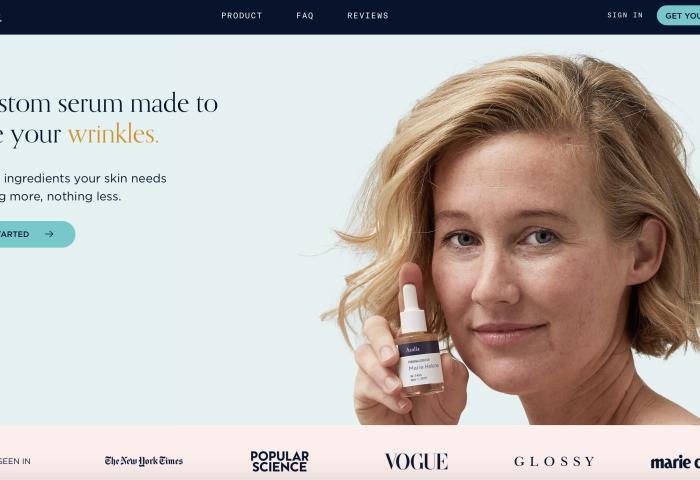 美国定制护肤创业品牌 Atolla 完成250万美元融资,过去6个月销售增长5倍以上