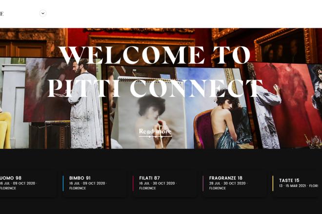 意大利Pitti Uomo男装周主办方宣布:将在线开启为期三个月的数字展会(附完整日程)