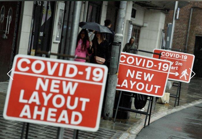 """""""洪水变细流"""":英国解除封锁后,零售业客流量回升速度逐渐减缓"""
