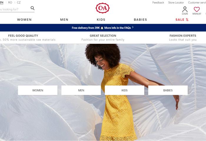 """快时尚品牌C&A谈疫情的应对措施:发展小型精品店以及""""负责任的消费""""理念"""