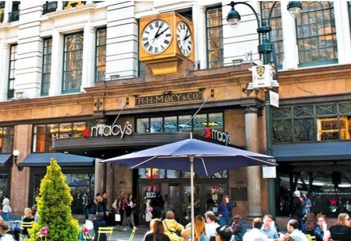 梅西百货今年2-4月销售额下降约45%,表示未来不会再次全面关闭门店