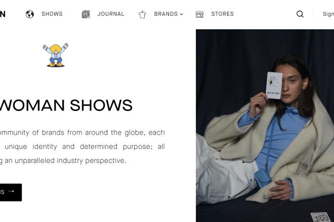 巴黎多个成衣类贸易会展公司推出线上参展平台