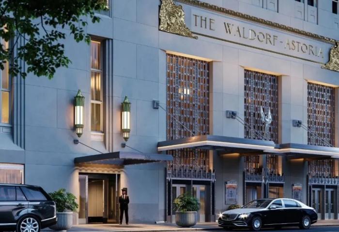 斥资20亿美元的纽约华尔道夫酒店翻修工程临近尾声:豪华公寓售价170万美元起