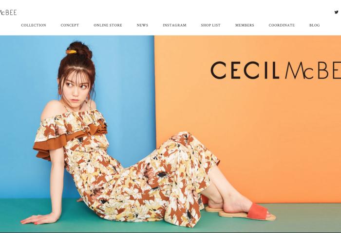 """日本曾经的""""辣妹品牌之王"""" :CECIL McBEE 的母公司关闭90%的门店"""